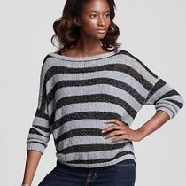 Joie Selda Metallic Striped Sweater Photo