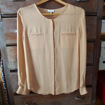 Joie Silk Blouse - Medium Beige Photo