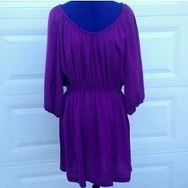 Joie Silky Purple Dress Photo