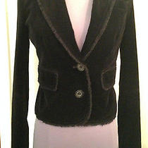 Joie Size Xs Black Velvet Jacket Blazer Perfect for Fall  Photo