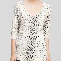 Joie Snow Leopard Sweater Jumper Xsmall Photo