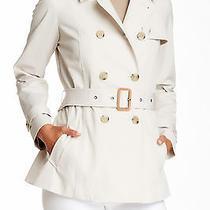 Joie Sz M Smokey Quartz Aveline Notch Waist Belt Coat Pocket Snwt 588  Photo