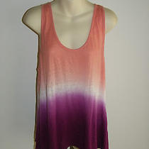 Joie Sz S Shirt Top Tank Tye Dye Melon Purple Thanie Brand New Tags 118 Photo
