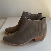 Joie Women Brown Suede Ankle Boots Size 36  New Photo