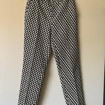 Joie Womens Pants Classic Fit Four Pockets Black White Size 0 Photo