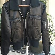 Joie Womens Black Bomber Jacket Medium Photo