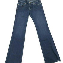 Joie Womens Jeans Baby Boot Cut Low-Rise Medium Wash Denim Blue Size 27  Photo