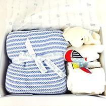 Jojo Maman Bebe Blue Gift Set - Blue Photo