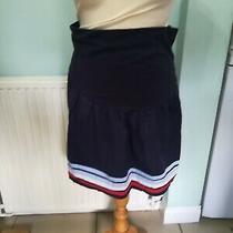 Jojo Maman Bebe Navy Blue  Maternity Skirt Size 10 Photo