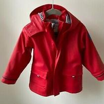 Jojo Maman Bebe Red Rain Coat 18-24months Great Condition Orig. 36 Photo