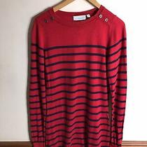 Jojo Maman Bebe Red Striped Maternity Top Jumper Size Xs 6   Tunic Dress Bretton Photo