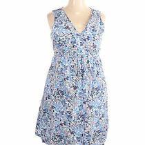 Jojo Maman Bebe Women Blue Casual Dress 18 Plus Photo