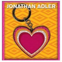 Jonathan Adler Keychain - Heart - Nwt Photo
