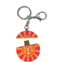 Jonathan Adler Keychain With 4gb Usb File Storage Flash Drive - Sun Photo