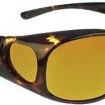 Jonathan Paul Fitovers Medium Element Tortoiseshell Polarized Yellow Sunglasses Photo