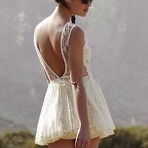 Jones & Jones Topshop Cream Lace Vivienne Mini Tutu Skater Prom Dress 12 40 Us8 Photo