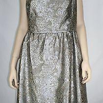 Jones New York Collection Women Evening Formal Holiday Dress Dark Mica Size 10 Photo
