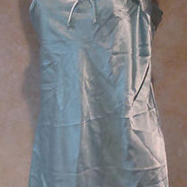 Jones New York Silky Sexy Teddy Nightgown Sleepweaar Aqua Spaghetti Strap M Photo