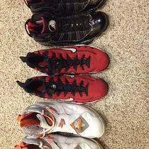 Jordan Flu Game 12s Jordan Aqua 8s Jordan Stealth 8s Photo