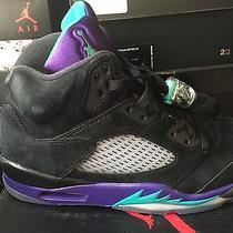 Jordan Retro 5 Black Grape Photo