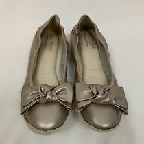 Josef Seibel Blush Leather Bow Ballet Slipper Flats Comfort Shoes 39 Us 8 8.5 Photo