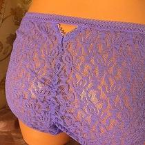 Josie Natori   853145  Cutie Stretch Lace Girl Brief Panty  - M - Viola Photo