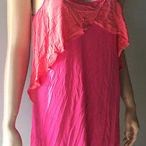Josie Natori Babydoll Nightie Pink Large  Photo