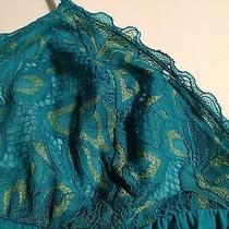 Josie Natori - Green (Teal) Nightie/ Sleepwear -  Size M Nwt Photo