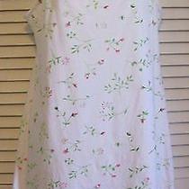 Josie  Natori Nightgown Lingerie Nightie Small 100% Cotton Photo