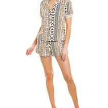 Josie Natori Shiloh 2pc Pajama Short Set Women's  M Photo