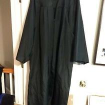 Josten's Elements Collection Black Graduation Judge Halloween Costume Gown Photo