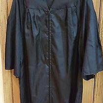Jostens Elements Collection Black Graduation Gown   5'7