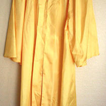 Jostens the Elements Collection Graduation Gown Robe Gold Medium Eco Friendly  Photo