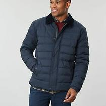Joules Mens Bayford Padded Outer Coach Coat - Marine Navy - S Photo
