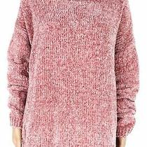 Joules Womens Chenille Sweater Blush Pink Size 14 Ribbed Knit Cowl Neck 88- 706 Photo