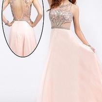 Jovani Blush Dress Size 4 Photo