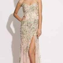 Jovani Prom Dress Strapless Size 4 Blush Photo