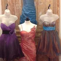 Jovani Size 2 Blush Prom Party Cruise Dance Wholesale Lot Short Formal Dresses   Photo