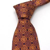 Joyous Versace Tie - Purple-Gold Clover Tiles Photo