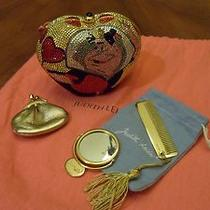 Judith Leiber Disney Queen of Hearts Swarovski Crystal Minaudiere Evening Bag  Photo
