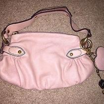 Juicy Couture Authentic Genuine Cowhide Leather Pink Handbag 275 Photo