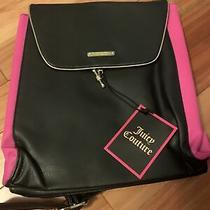 Juicy Couture Backpack Black and Pink Travel Bag Photo