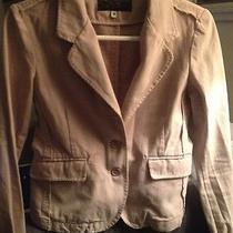 Juicy Couture Beige Cotton Blazer Photo
