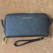 Juicy Couture Black Cell Charging Wallet/wrist Purse Photo