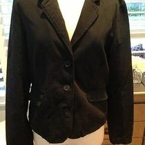 Juicy Couture Black Fitted Blazer Jacket Very Rare Sz Xl Photo