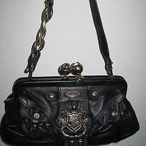 Juicy Couture Black Leather Handbag Photo