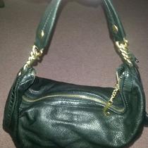 Juicy Couture Black Leather Hobo Gold Chain Purse/handbag Photo