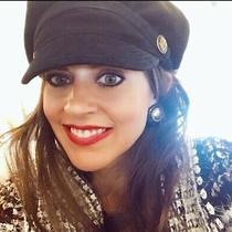 Juicy Couture Black Newsboy Hat Photo