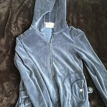 Juicy Couture Blue Hoodie With Button Pockets  Photo