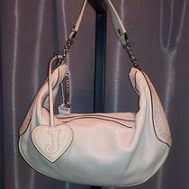 Juicy Couture Blush Light Pink Leather Purse Size Medium Free Shipping Photo